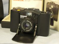 '    35GT - CASED BOXED MINT NICE SET- ' Minox 35GT Vintage Camera c/w Leather Case + Inst -NICE SET- MINT - £34.99